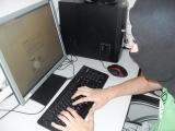 Hacker bei der Arbeit Bild 2 Sicher-Stark-Team